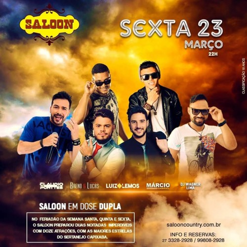 Sexta sertaneja do Saloon