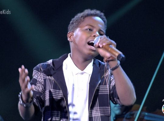 Capixaba Jeremias está na final no The Voice Kids