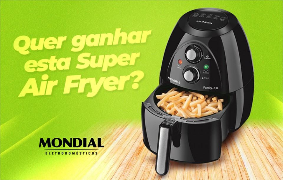 Super Air Fryer da Mondial