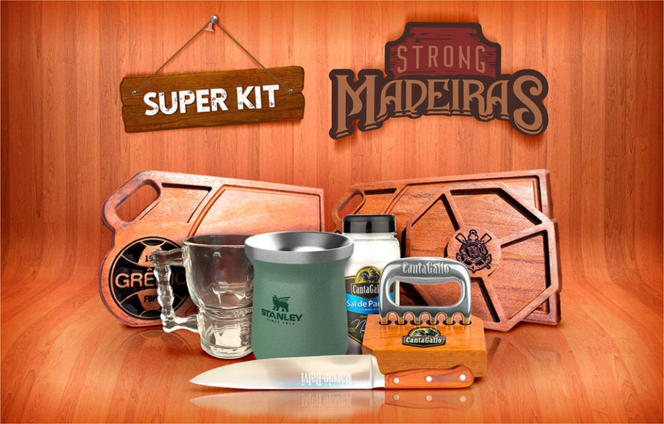 Super Kit Strong Madeiras