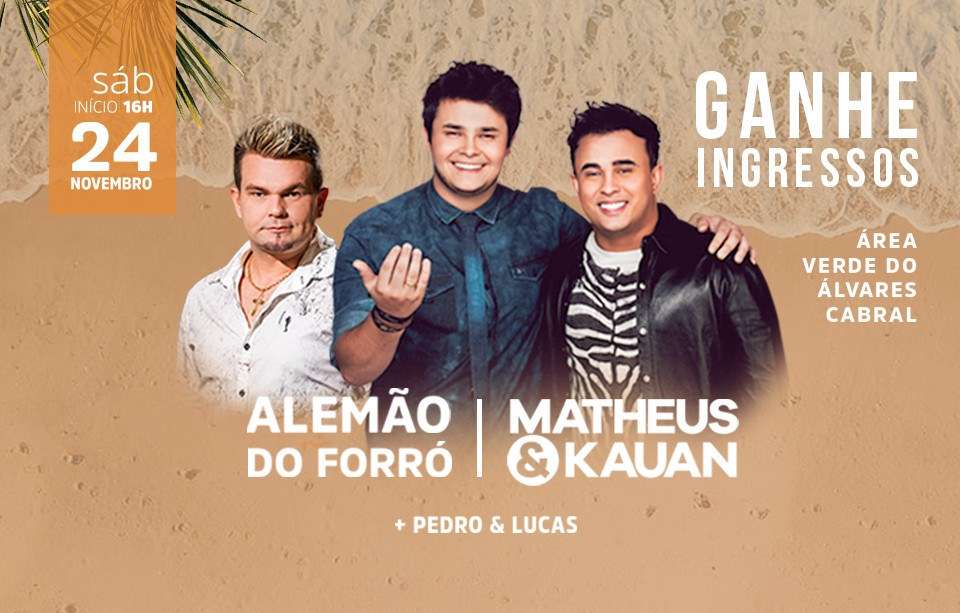 Super Show de Matheus & Kauan e Alemão do Forró