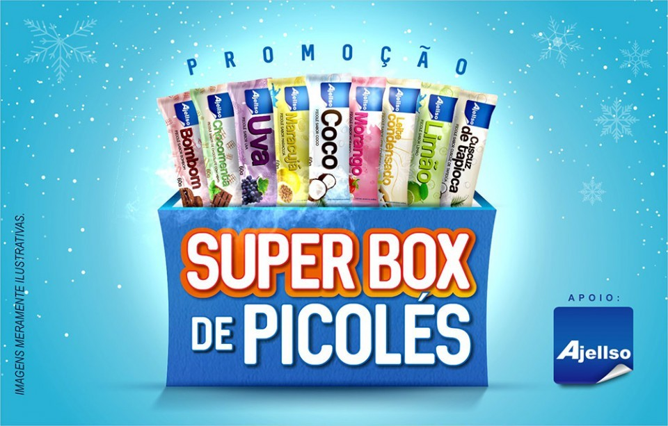 Super Box de Picolés