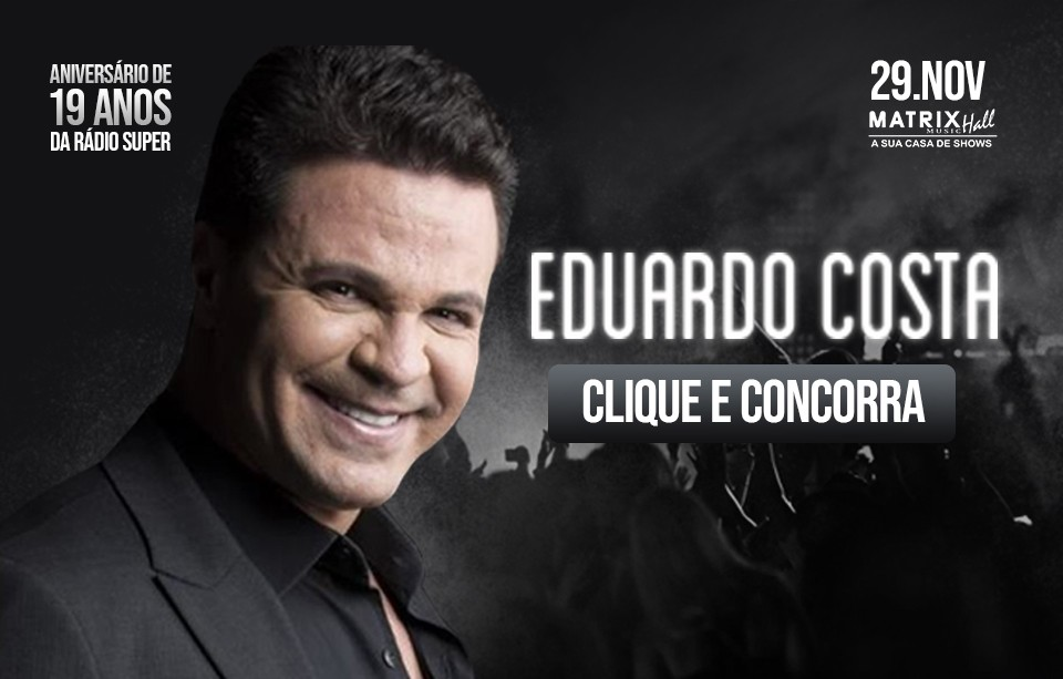 Eduardo Costa na Matrix Music Hall